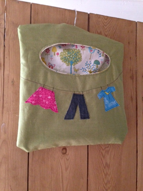 lovely new peg bag