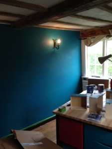 lovely colour for the walls