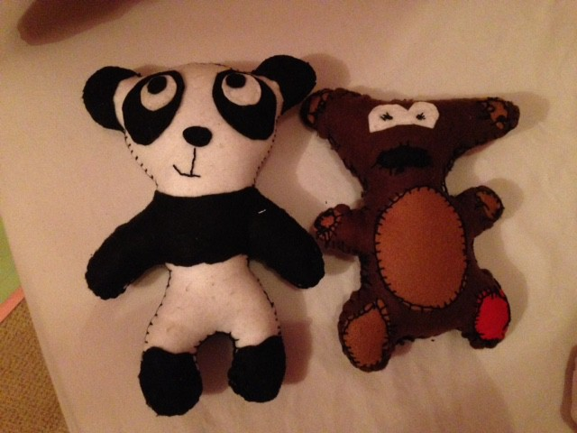 Panda and Teddy